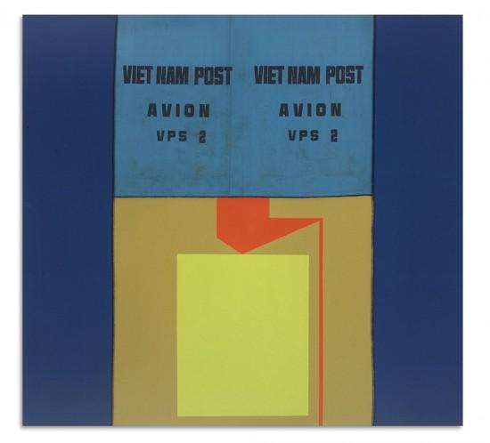 2001_deBloeme_Malerei2001-2010_Das einsetzen der Ärmel I