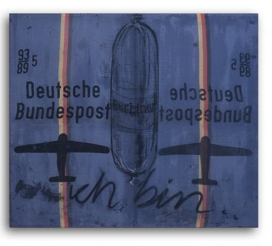 1997_deBloeme_Ich Bin_(95x110cm)