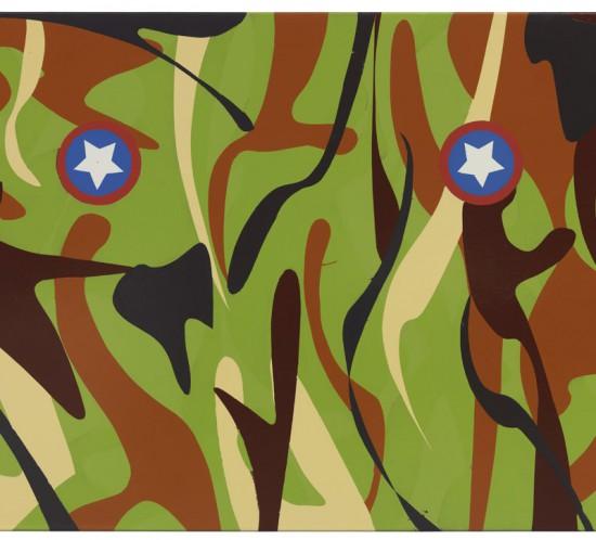 2004_deBloeme_Malerei 2001-2010_Camouflage